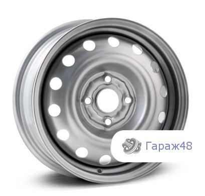 Trebl 53A35D R14 / 5.5J PCD 4x100 ET 35 ЦО 57.1 Штампованные Серебристый