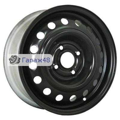 Trebl X40006 R15 / 6J PCD 4x100 ET 45 ЦО 56.6 Штампованные Черный