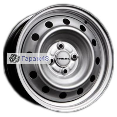 Trebl 7255 R15 / 6J PCD 4x108 ET 47.5 ЦО 63.3 Штампованные Серебристый