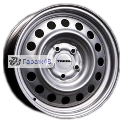 Trebl 53B35B R14 / 5.5J PCD 4x98 ET 35 ЦО 58.6 Штампованные Серебристый