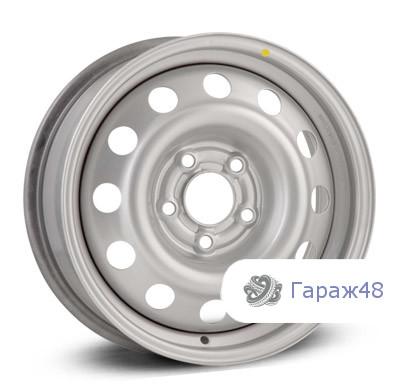Trebl 8756 R16 / 6.5J PCD 5x114.3 ET 45 ЦО 67.1 Штампованные Серебристый