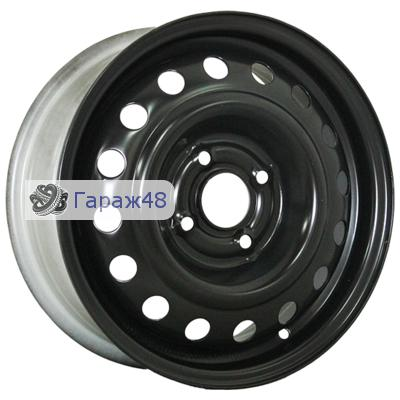 Trebl 6445 R15 / 6J PCD 4x100 ET 39 ЦО 56.6 Штампованные Черный