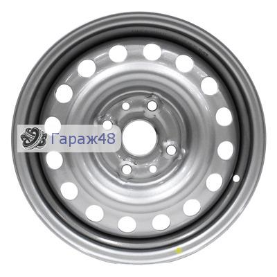 Next NX-006 R14 / 5.5J PCD 4x100 ET 43 ЦО 60.1 Штампованные Серебристый