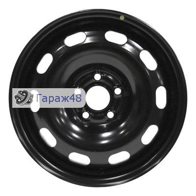 Next NX-043 R15 / 6J PCD 5x100 ET 43 ЦО 57.1 Штампованные Черный