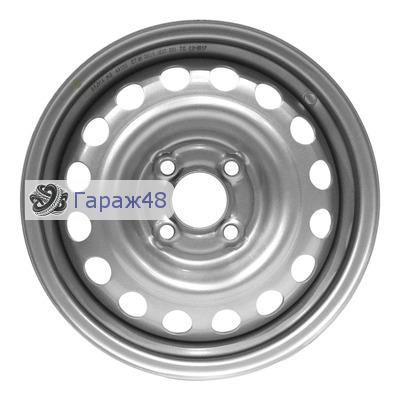 Next NX-118 R14 / 5.5J PCD 4x100 ET 35 ЦО 57.1 Штампованные Серебристый