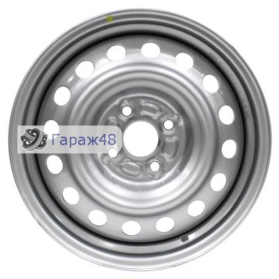 Next NX-016 R15 / 6J PCD 4x100 ET 45 ЦО 56.6 Штампованные Серебристый