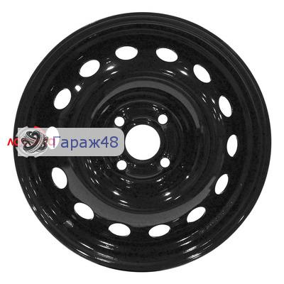 Next NX-137 R15 / 6J PCD 4x100 ET 49 ЦО 56.6 Штампованные Черный